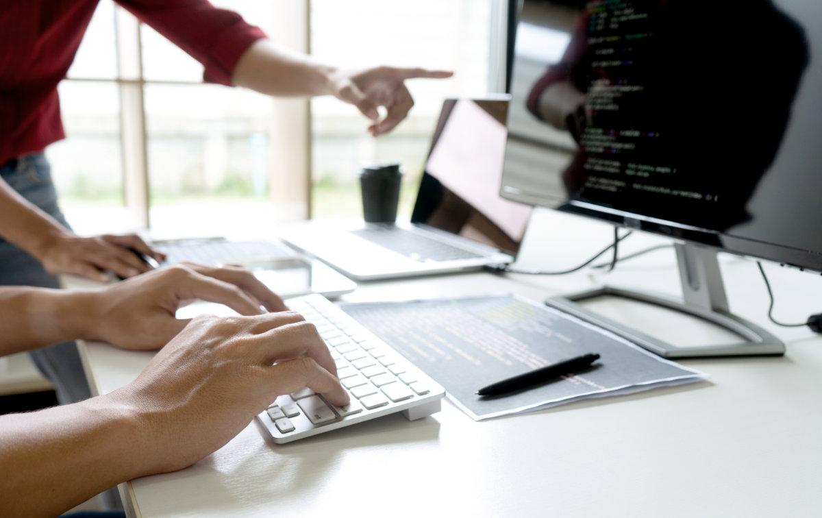 UX designers at work