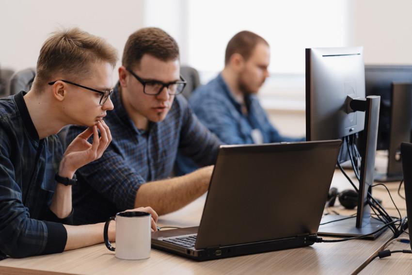 Developers werken samen