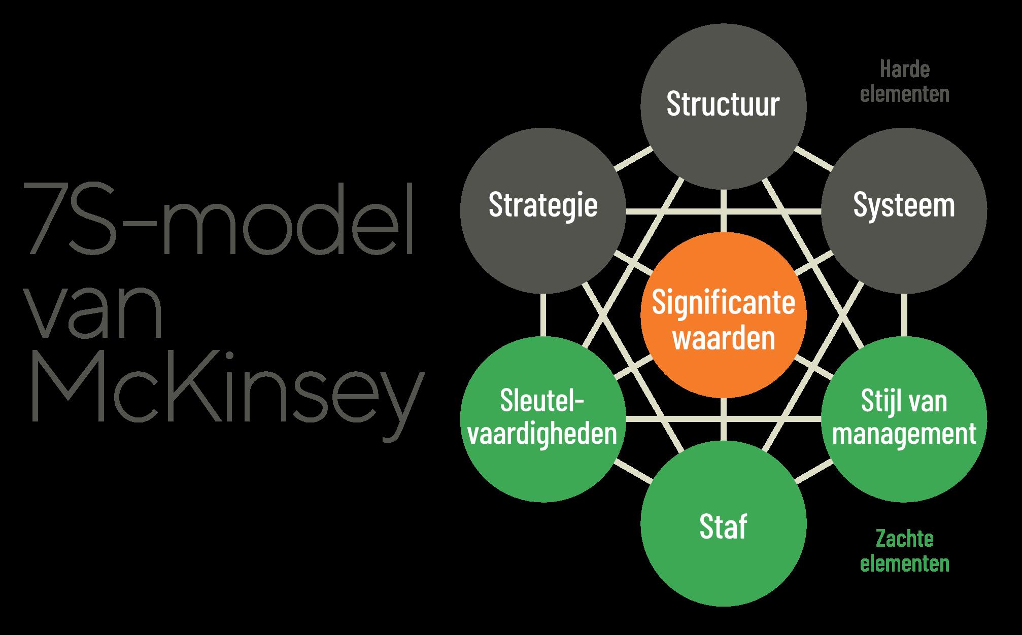 Het 7S-model van McKinsey