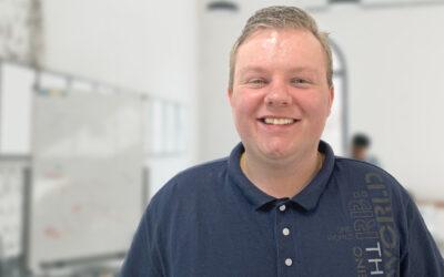 Christian Adkin: maak kennis met onze nieuwste medewerker